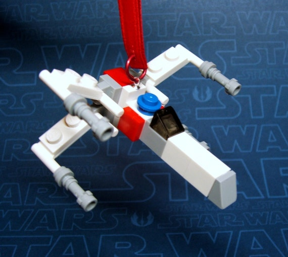 X-Wing Starfighter Star Wars Christmas Ornament made from