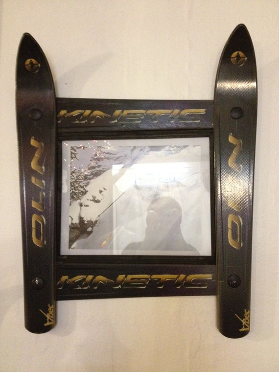 Olin Ski Frame in its Original Finish made in Vermont and handcrafted out of Recycled Skis