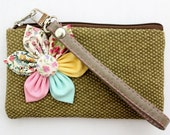 PROMOTION Buy 3 Get 1 FREE Olive Green Pouch Zipper