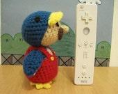 New Super Mario Bros Wii - Penguin Suit Mario handmade amigurumi crochet toy