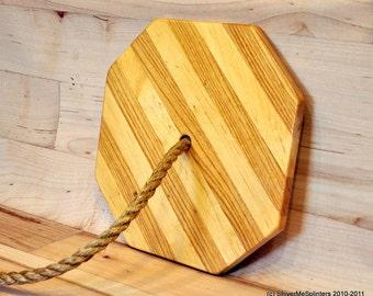 Wood Swing- Maple and Oak