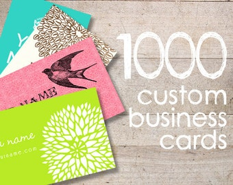Business Cards - Custom Business Cards - Jewelry Cards - Earring Cards - Display Cards - QTY 100