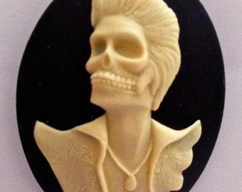 Dead Rocker Cameos 40x30mm, set of 3