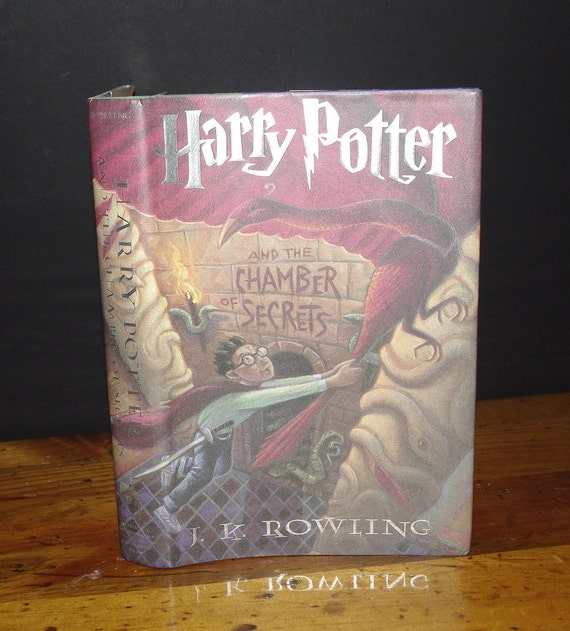 Hollow Book Safe Harry Potter and the Chamber of Secrets