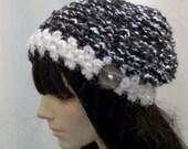 Tiffany Hat- Black and White
