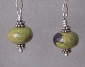 Stichtite/Atelestite earrings
