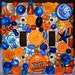 MADE TO ORDER - Orange and Blue University of Florida Gators Football Switchplate Cover