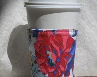 Floral Coffee Cozy