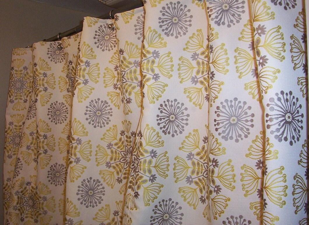 Shower Curtain Using Waverly Kaleidoscope Sterling