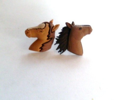 Earrings-Mix and Match Collection-I Love Horses