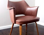 HOLD. Mid Century Space Age Modern Thonet Arm Chair