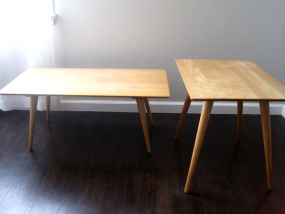 RESERVED.  Mid Century Paul McCobb Side Table