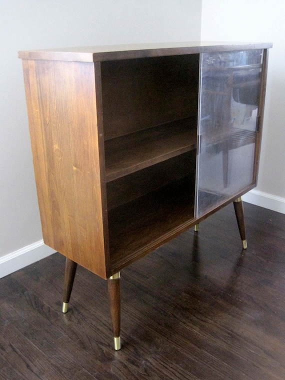 RESERVED. Mid Century Wooden Bookcase Bookshelf