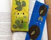 Set of 2 bookmarks - Earth and Water