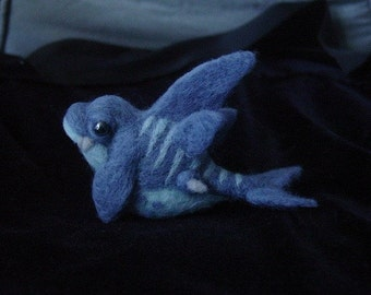 Small needle felted sea monster
