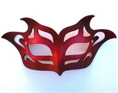 Pixie Leather Mask
