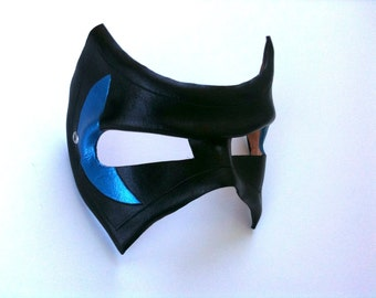 Two-toned Villain Leather Mask
