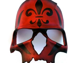 Red Death Leather Mask