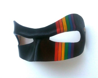 Pride Hero Leather Mask