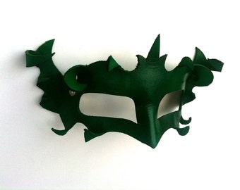 Dark Masquerade Leather Mask