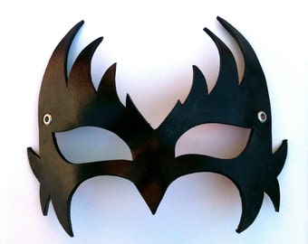 Wings Leather Mask