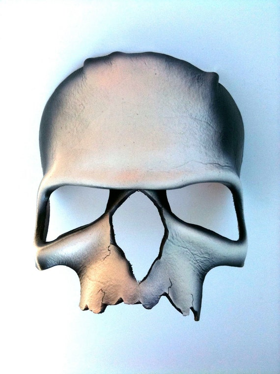 Skull Leather Mask