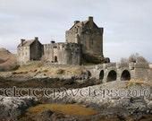 Eilean Donan Castle - 5 x 7 Original Art Photograph Notecard with Envelope