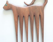 Cat A Comb hair comb fork or stick