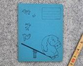 Vintage school notebook