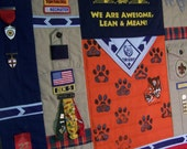 Custom Boy Scout Memory Quilt