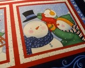 Snow Days Fabric Panel - Marcus Brothers designed by Teresa Kogut