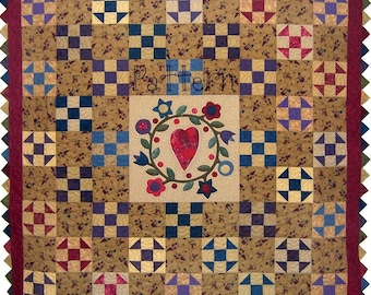 Quilt Pattern My Hearts Content