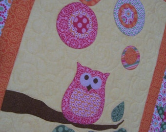 Quilt Pattern Abby's Owl - Two Quilts in One Pattern