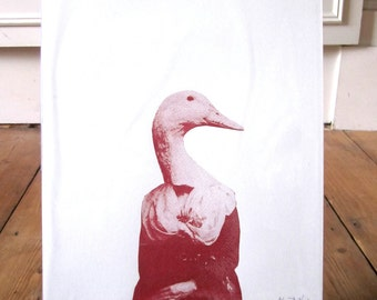 Swan Lady Limited Edition Screen Print