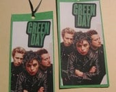 Green Day Bookmark/Tags