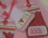 Valentine Tags-Set of 4