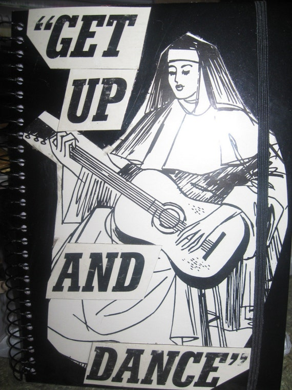 Get Up and Dance Spiral Journal