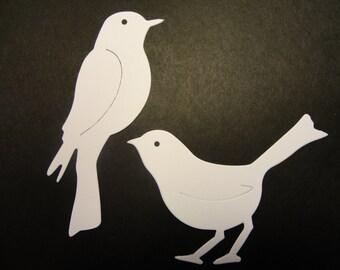 Bird Die Cuts - 4 each