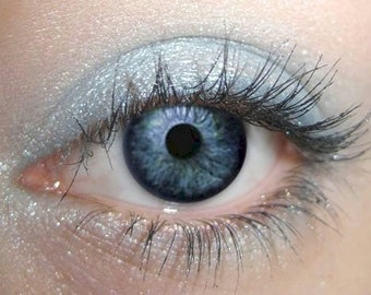 Pale Blue Eyeshadow, Mineral Eye Color, Mineral Eye Shadow, Mineral Eyeshadow, Pale Blue Eye Shadow, Natural Eye Color, SKY