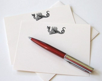 Dragon Note Cards - Set of 12