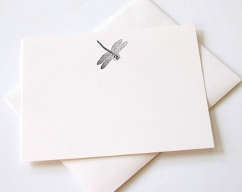 Dragonfly Note Cards - Set of 12