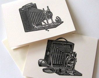 Vintage Camera Notecards