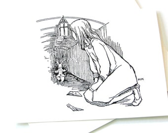 Alice in Wonderland Notecards - Set of 12
