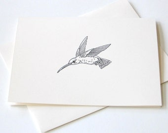 Hummingbird Notecard Set of 10