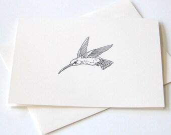 Hummingbird Notecard Set of 10