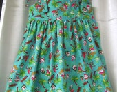 FREE SHIPPING. Christmas Penguins  Dress ..size 5T..