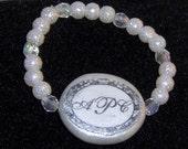 Custom Monogrammed Baby Bracelet