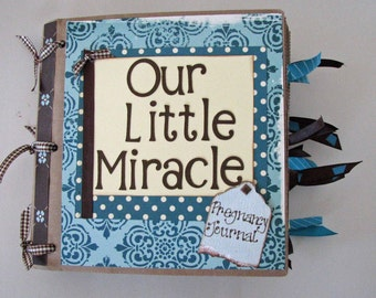 Pregnancy Journal and Scrapbook 6x6