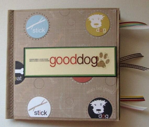 Good Dog Paper Bag Scrapbook