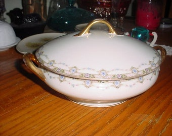 A Limoges France Covered Tureen Pristine for age Fathers day special item
